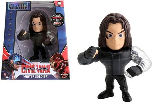 "Funko Metals Marvel Civil War 4"" Fig Wnter Soldier"