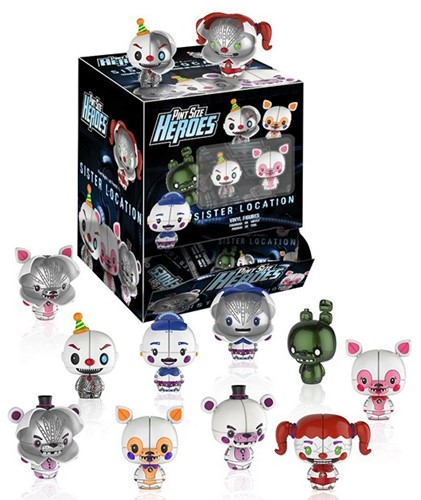 Funko Pint Size Heroes Five Nights at Freddy's SIster Location CDU 24