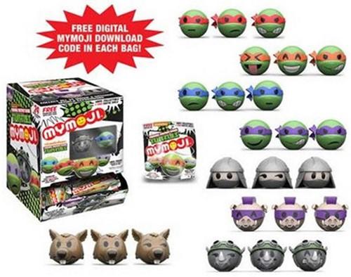 Funko MYMOJI Teenage Mutant Ninja Turtles Blindbags in display