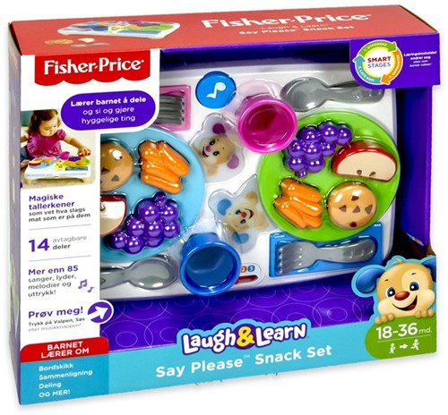 Fisher-Price Snack Set, Sharing Table (Norway) 32x36cm