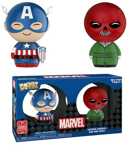 Dorbz Captain America& RedSkull 2-Pack