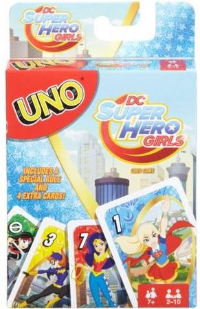 UNO Kaartspel DC Super Hero Girls (UK + DK)