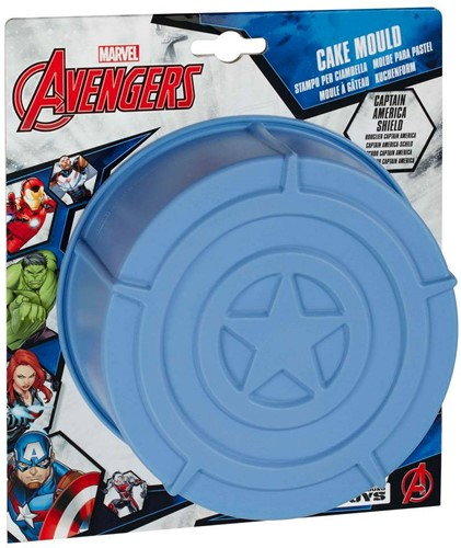 Funko Home Marv CakeMold Capt USA Shield