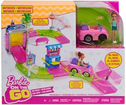Barbie on the Go Motorized Carwash 32x38cm