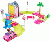 Barbie on the Go Motorized Carwash 32x38cm-2