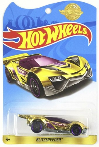 Hot Wheels voertuig Chrome Edition Blitzspeeder