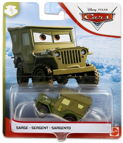 Mattel Disney Cars Die-Cast voertuigen Sergeant 14x16,5cm