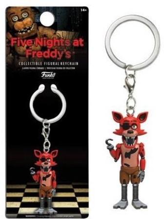POP! Keychain Figural Five Nights at Freddys Foxy