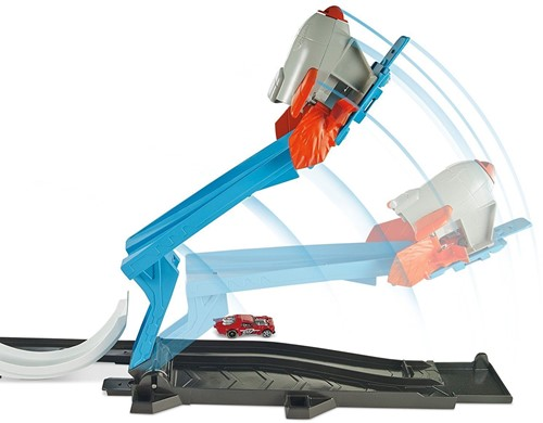 Hot Wheels Track Builder Rocker Launch Challenge 46x30cm-3