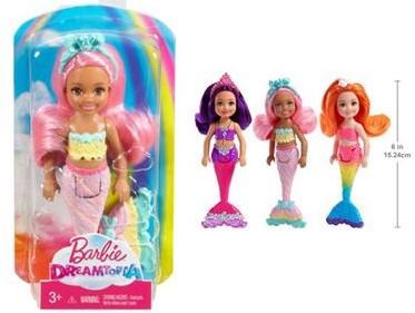 Barbie Dreamtopia Chelsea Mini Zeemeermin assorti
