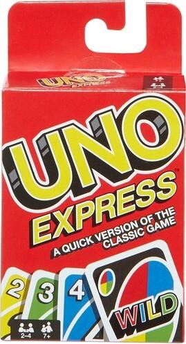 UNO Express Kaartspel Taal: EN SP