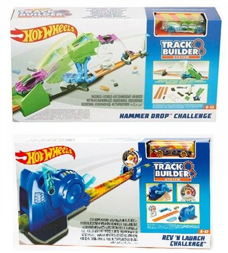 Mattel Hot Wheels Track Builder-Ramp assorti