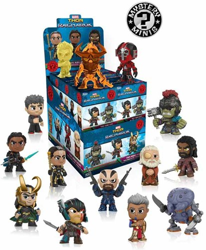 Funko Mystery Mini Thor Ragnarok assorti in display