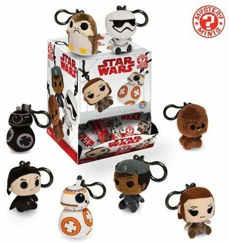 Funko Mystery Mini Plushies StarWars CDU18