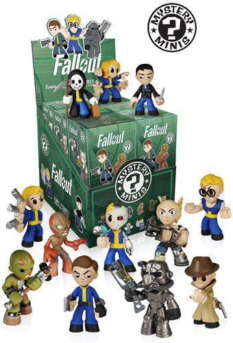 Mystery Minis Fallout assorti in display 7,5x9cm