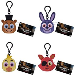 Plush Keychain Five Nights at Freddy's 4 assorti 5cm