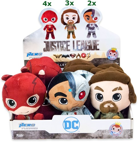 Funko Plush DC Justice League 3 assorti 9 stuks in display