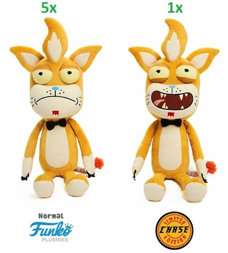Funko Plush Rick&Morty Squanchy w/Chase 30cm 2 assorti