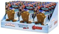 Marvel Guardians of the Galaxy Talking Groot Plush Baglip in display 12cm-3