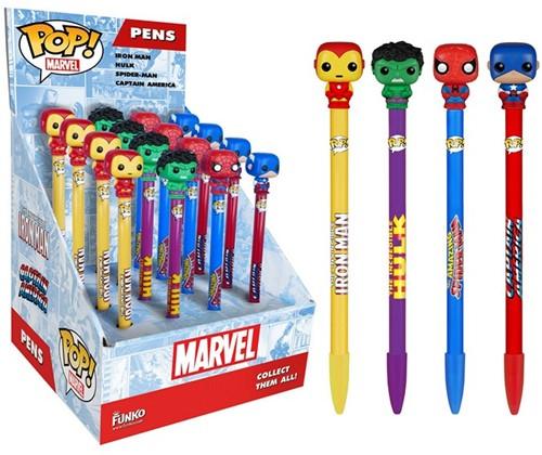 Funko Pen Toppers Marvel CDU 16