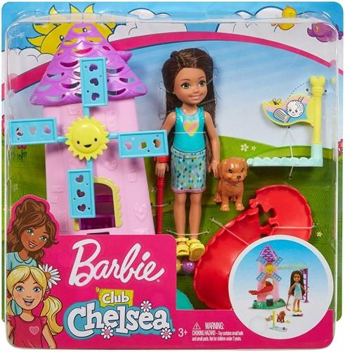 Barbie Chelsea Pop met Mini Golf Speelset