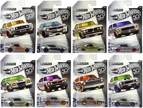 Hot Wheels Die cast voertuigen 50th Anniversary assorti
