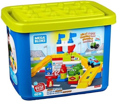 Mega Blokx Race Car Garage 60ocs 27x36cm
