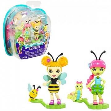 Enchantimals 2-Pack Bug Buddies assorti 10x11cm