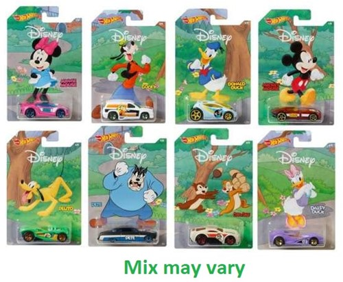 Hot Wheels Mickey & Friends assorti