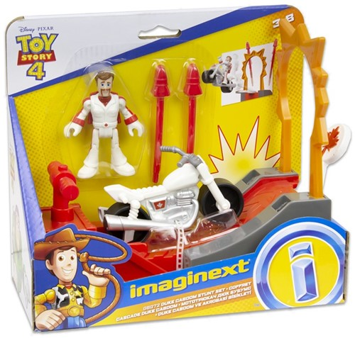 Mattel Disney Toy Story 4 imaginext Speelset Duke Caboom Stunt Set 19x21,5cm