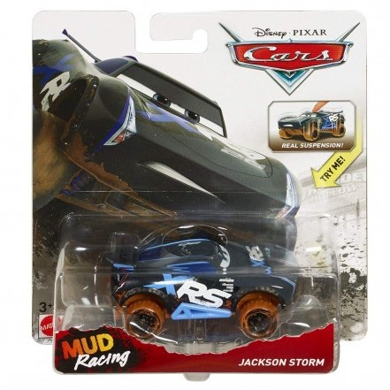 Disney Cars XRS Mud Racing Jackson Storm