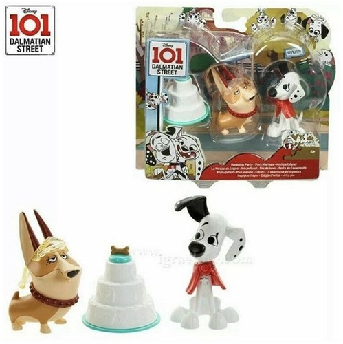 Disney 101 Dalmatiers Speelset met Figuur 2-Pack Clarissa & Dylan