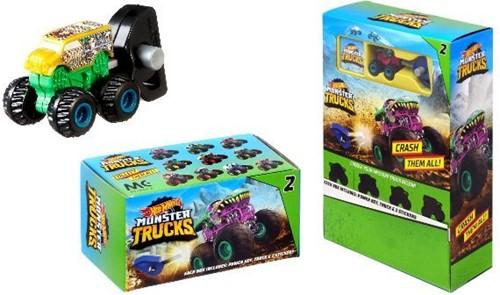 Hot Wheels Mini Monster Trucks in Blind Bag assorti