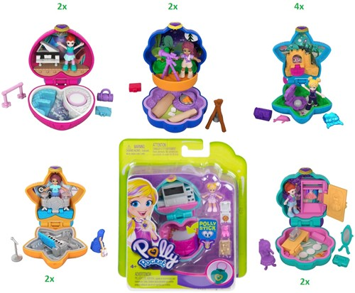 Polly Pocket Tiny Pocket Places assorti in display