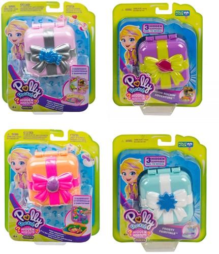 Mattel Polly Pocket Schatkist Verborgen schatten assorti