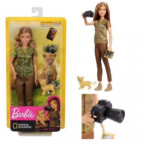Barbie National Geographic Pop Natuur fotograaf