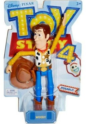 Mattel Disney Toy Story 4 Basis Figuur Woody