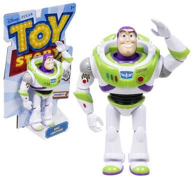 Mattel Disney Toy Story 4 Basis Figuur Buzz Lightyear 19cm