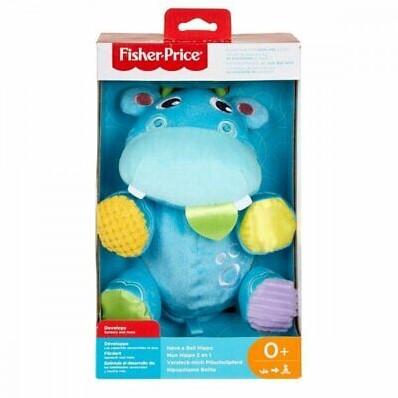 Mattel Fisher Price babyspeelgoed Hide Me Plush Hippo