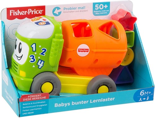 Mattel Fisher Price Leerwagen met geluid