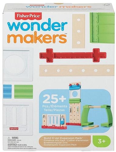 Mattel Fisher Price Wonder makers Hout uitbreidingsset 25 delig