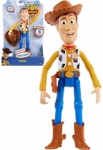 Disney Toy Story 4 Sprekende Woody speelpop 18x29cm (Italiaans)