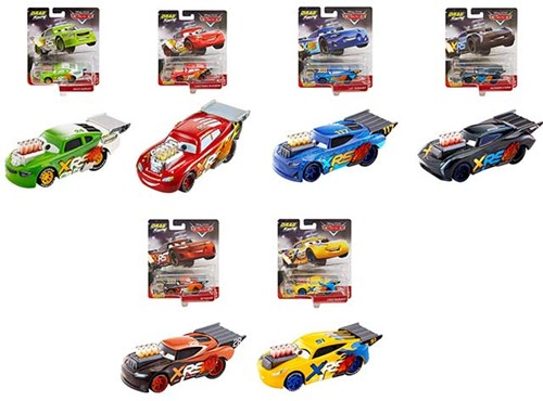 Disney Cars Drag Racing auto's 6 assorti
