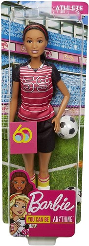 Barbie You can be Anything 60th Anniversary Voetbalspeler 9x31cm
