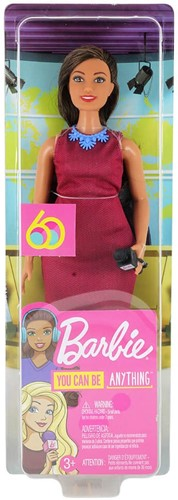 Barbie You can be Anything 60th Anniversary Journalist 9x31cm
