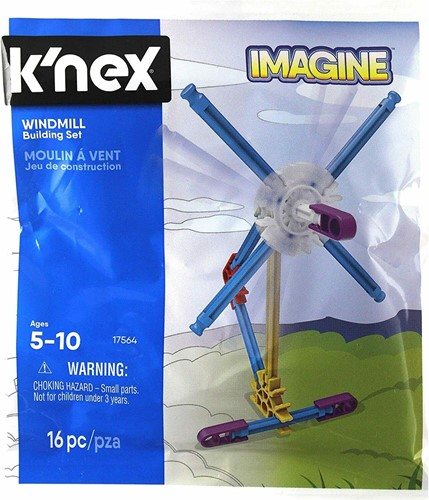 K'NEX Imagine Windmill Building Set 16pc 16x17cm