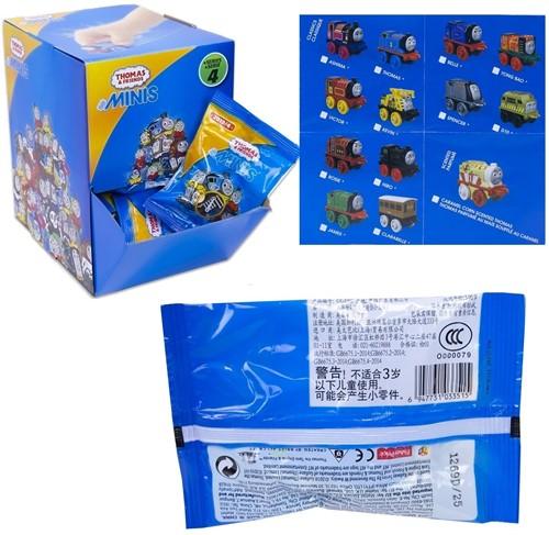 Blind Bag Thomas & Friends Minis verzamelfiguur assorti in display 5cm Series 4
