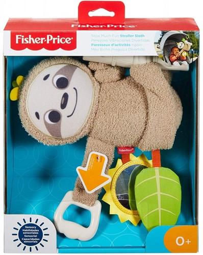 Fisher-Price Slow Much Fun Stroller Sloth 23x48cm