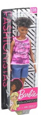Barbie Fashionistas Pop roze camouflage