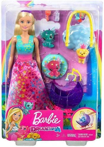 Mattel Barbie Dreamtopia Speelset Kinderopvang draken